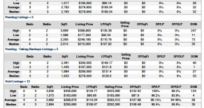 Real Estate Market Analysis Report – August 2011 Shady Hollow Austin
